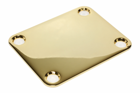 Gold neck plate