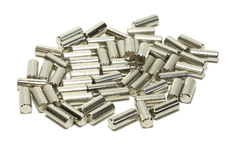 Humbucker Nickel Plated Steel Pole Slugs for pickup makers 60 pieces
