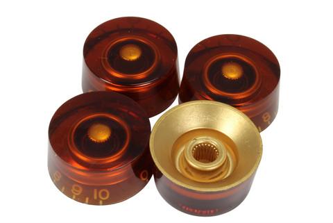 Amber speed knobs - US Fine spline