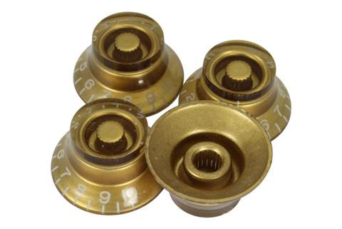 Gold bell hat knob - Import coarse spline
