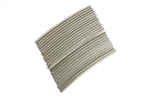 Stainless Steel Jescar FW37080-S fretwire pre-radiused