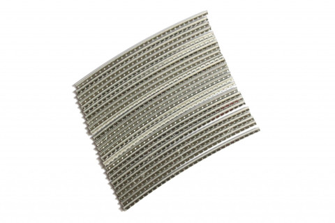 Stainless Steel Jescar FW43080-S fret wire pre-radiused