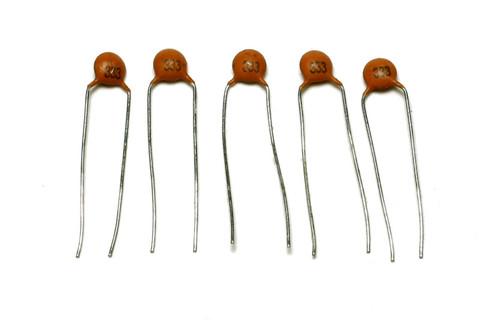 Ceramic Disc Capacitors .033mfd 50v