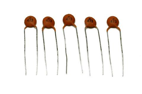 Ceramic Disc Capacitors .047mfd 50v