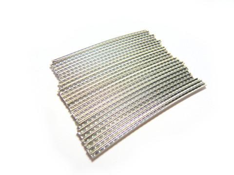 Jescar FW50085-NS nickel silver fretwire pre-radiused.