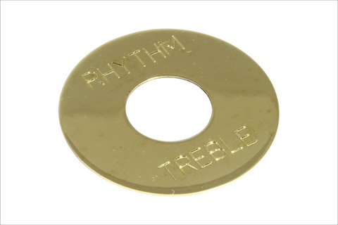Non-plated brass toggle switch ring