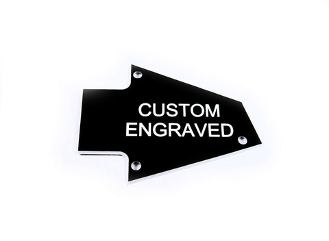 Custom Engraved Truss Rod Cover fits Ibanez non Japan