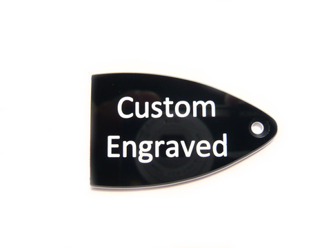 Custom Engraved Truss Rod Cover for USA PRS Guitars
