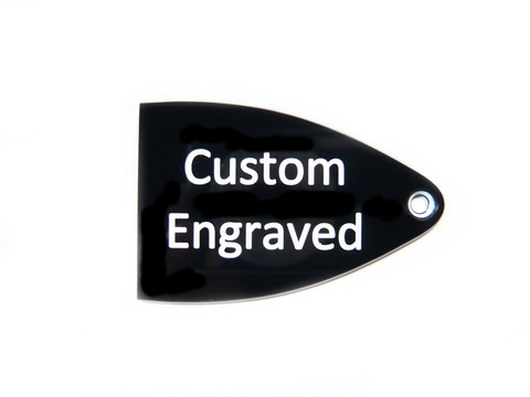 Custom Engraved Truss Rod Cover for Import PRS SE Guitars