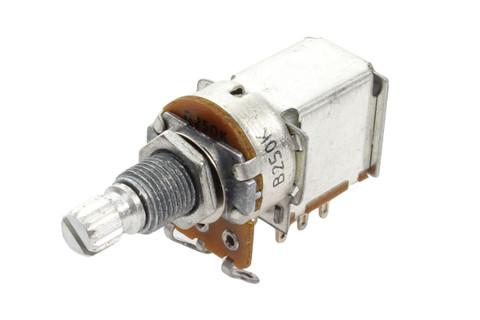 Push Pull B500K DPDT Coarse Spline Split Shaft Linear Pot Potentiometer