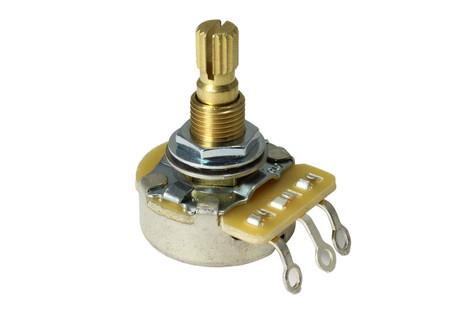 Quarter Sized Pot Potentiometer B250K Linear Taper Tone Pot NOS