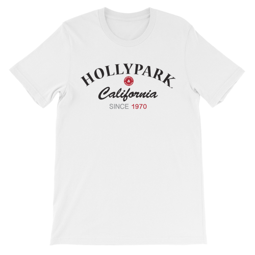 IW HOLLYPARK BLACK TEE - Unisex short sleeve t-shirt - 104BLK