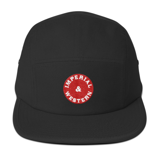 IW RED BUTTON LOGO - Five Panel Cap - 217