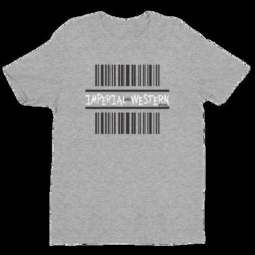 IW BARCODE LOGO BLK/WHT - Short Sleeve T-shirt - 161