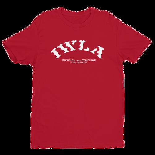 IW BANNER LOGO WHT LTR'S - Short Sleeve T-shirt - 163