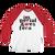 IW SPELLED OUT LOGO BLACK Long Sleeve Baseball T-Shirt - 129S0LS