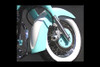 Baron Custom Vintage Fenders for V-Star 1100 Custom '99-Up Front Fender