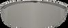 """Cobra 4.5"""" Chrome Bullet Spotlight Visor - Sold Each"""