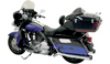 Bassani Pseudo Left-Side Muffler for Road Rage B1 System '09-21 FL -Chrome