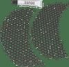 Klock Werks Honeycomb Fairing Vent Screen for '14-Up Harley Davidson FLTRX and FLTRXS Models (Select Chrome or Black)