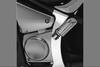 Show Chrome Rear Swing Arm Frame Cover  for Vulcan 900 Custom/Classic '06-Up