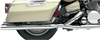 Baron Custom Big Slash Slip-On Mufflers for '99-13 Yamaha Royal Star Venture & '05-09 Tour Deluxe