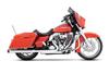 """Rinehart Slip-on Mufflers for '95-09 FL Models 3.5"""" Chrome w/ Black End Caps"""