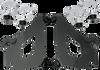 Memphis Shades Bullet Fairing Hardware for Fury '10-13 - Black