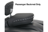 Mustang  Passenger Seat with Receiver ONLY for '97-07  FLHT/FLTR/FLHR/FLHX & '08-Up FL -Black Studs DOES NOT INCLUDE BACKREST