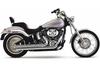 Cobra Speedster Slashdowns  Exhaust w/ PowerPort for Softails '07-11