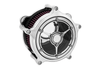 Roland Sands Design Clarity Air Cleaner for '08-16  FL Throtle-by-Wire Models -Chrome