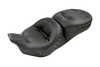Mustang Seats One-Piece Regal Touring Seat for Harley Davidson Touring Models 2008-Up -Black Studs