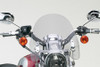 National Cycle SwitchBlade Windshield for FX Models Narrow Glide w/ 39mm Fork Tubes -Deflector, Clear Style