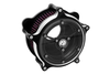 Roland Sands Design Clarity Air Cleaner for '08-16  FL Throtle-by-Wire Models -Contrast Cut