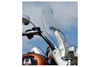 "Klock Werks Flare Billboard Windshield for '94-Up FLHR w/ OEM Windshield  & 2012 FLD (Dyna Switchback) King Size Detachable  -Clear, 16-3/8"" Inch"