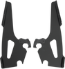 Memphis  Shades  Batwing Plate Only Kit for VLX 600 '88-07-Black FAIRING, MOUNTING KIT & WINDSHIELD NOT INCLUDED
