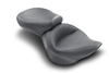 Mustang One-Piece Wide Super Touring Seat for Cross Bones FLSTSB '08-Up w/ 200mm Wide Tire-Vintage/Plain