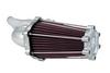 Performance Machine Fast Air Intake Solution for '93-06 Big Twin w/ CV Carb & '01-17 Twin Cam w/ Delphi EFI  (Excludes 08-17 FLH, FLT; 16-17 FLSTFS, FLSS ) - Chrome