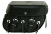 Boss Bags #38 Model  Plain Style w/ Conchos on Bag Body for Harley Models
