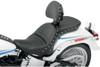 Saddlemen Explorer Special Seat for '84-99 FXST & FLST With Driver Backrest