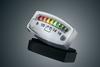 Kuryakyn L.E.D. Battery Gauge Fits 12Volt Electrical Systems -Chrome