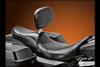 LePera Seats Silhouette Seat with Driver Backrest for Harley Davidson Touring Models 2008-Up