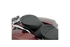 Drag Specialties Solo Rear/Pillion Seats for '97-Up FLHT/FLHR/FLTR/FLHX -Wide, Mild Stitch