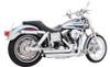 Freedom Performance Exhaust Amendment Slash Cut for Dyna '06-17 - Chrome