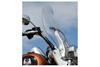 "Klock Werks Flare Billboard Windshield for '00-Up FLSTC w/ OEM Windshield, '90-12 FLSTF, '86-99 FLSTC '05-Up FLSTN w/ OEM Detachable King-Sized Windshield (20"" Tall) -Tint"
