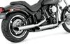 Python Mamba Slip-On Mufflers for '91-17 Harley Davidson Dyna