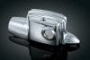 Kuryakyn Rear Master Cylinder Cover for '08-Up FL Models without Fairing Lowers (except Trikes) Each