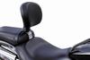 Bakup Driver Backrest for V-Star 650 Custom '00-09