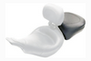 Mustang  Recessed Rear Seat  for FLHT & FLTR '97-07 -Wide Smooth