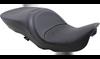 Drag Specialties Large Touring Seat for '97-07 Harley Davidson Touring & Trike - Mild Stitch